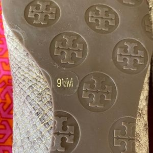 Tory Burch Shoes - TORY BURCH | Reva Python Print Ballet Flat